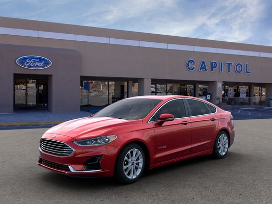 2019 Ford Fusion Hybrid Sel In Santa Fe Nm Albuquerque Ford